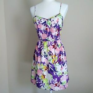 "J Crew "" seaside cami"" floral sundress"